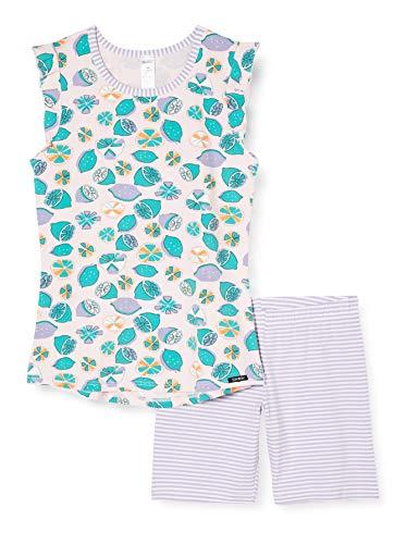 Skiny Mädchen Pyjama kurz Cosy Night Sleep Girls Zweiteiliger Schlafanzug, Mehrfarbig (Rose Lemons 2648), (Herstellergröße:140)