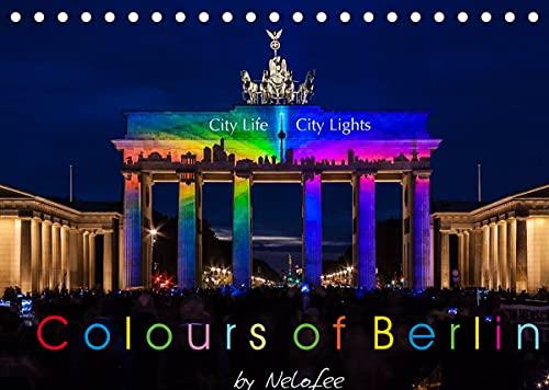 Colours of Berlin (Tischkalender 2022 DIN A5 quer)