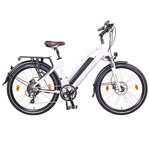 NCM Milano Plus Urban E-Trekking E-Bike 48V 16Ah 768Wh Weiß 28
