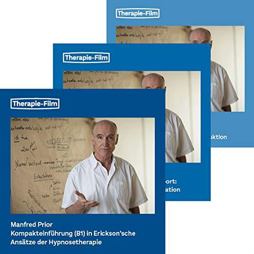 Manfred Prior: Hypnosepaket (B1, B2 und B3) / Hypnose lernen / 3 Seminare mit Demonstrationen und Übungen