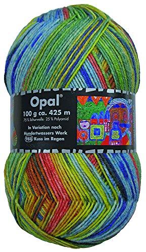 Opal Sockenwolle Hundertwasser III - Kuss im Regen 988