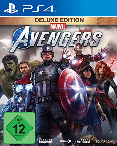 Marvel's Avengers Deluxe Edition (inkl. kostenloses Upgrade auf PS5) (PS4)