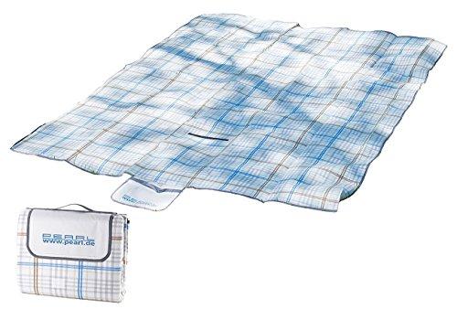 PEARL Picknickdecken: wasserdichte XXL-Picknick-Decke aus Fleece, 2,5 x 2 m (Outdoor Decke wasserdicht)