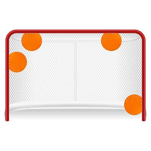 Top Shelf Targets Sniper Magnetische Zielscheiben für Hockey und Lacrosse, 20,3 cm, 4 Stück