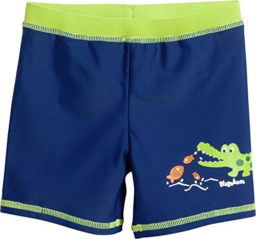 Playshoes Jungen UV-Schutz Short Krokodil Badehose, Blau (Marine 11), 98