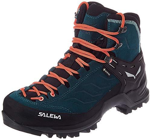 Salewa Damen WS Mountain Trainer Mid Gore-TEX Trekking-& Wanderstiefel, Atlantic Deep/Ombre Blue, 41 EU