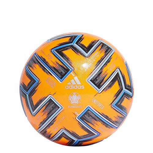 adidas Herren UNIFO PRO WTR Soccer Ball, Sorang/Black/Globlu, 5