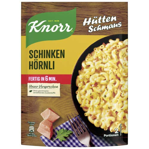 Knorr Nudel-Fertiggericht Schinken Hörnli Instant Nudeln 156 g