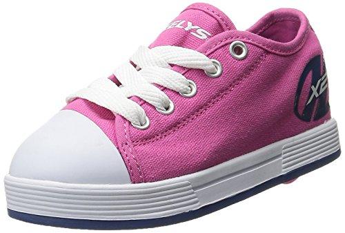 Heelys Jungen und Mädchen Fresh Sneaker Low Hals, Pink (Fuchsia/Navy), 34 EU