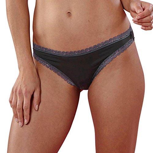 ESPRIT Bodywear Damen LISMORE Slip, 001/BLACK, 40