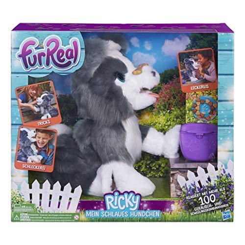 Hasbro FurReal Friends E0384100 Ricky, Mein Schlaues Hündchen, Elektronisches Haustier
