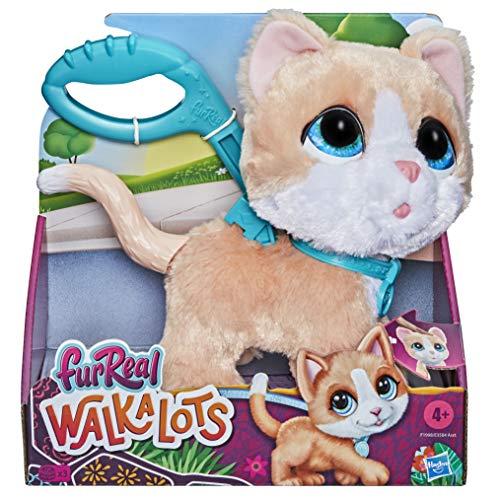Hasbro FurReal F1998ES1 Walkalots Große Racker Katze interaktives Tierchen, Tolle Tiergeräusche und Wackellauf-Bewegung, Ab 4 Jahren geeignet, F1998