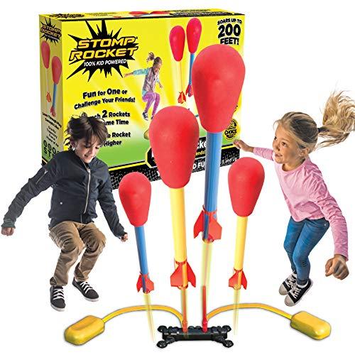 Stomp Rocket 365016 Dueling - Druckluftrakete