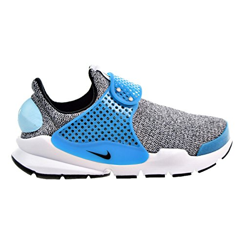 Nike Sock Dart SE Women's Shoes Grey/Blue Lagoon/White/Black 862412-002 (5 B(M) US)