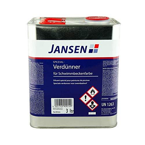Jansen Spezial-Verdünner 3L Kunstharzverdünnung