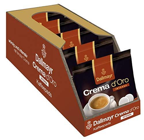 Dallmayr Kaffee Crema d'oro Intensa Kaffeepads, 5er Pack (5 x 16 Pads)