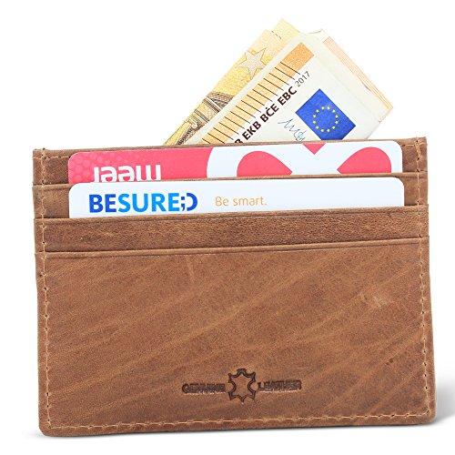 Leder Kreditkartenhülle