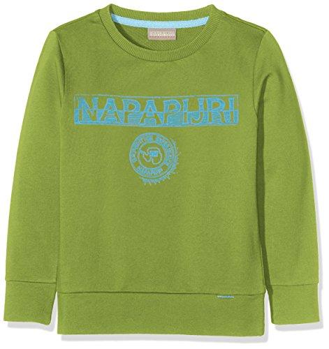 Napapijri Jungen K BAM Sweatshirt, Grün (Piquant Green Gb3), 164 (Herstellergröße: 14)