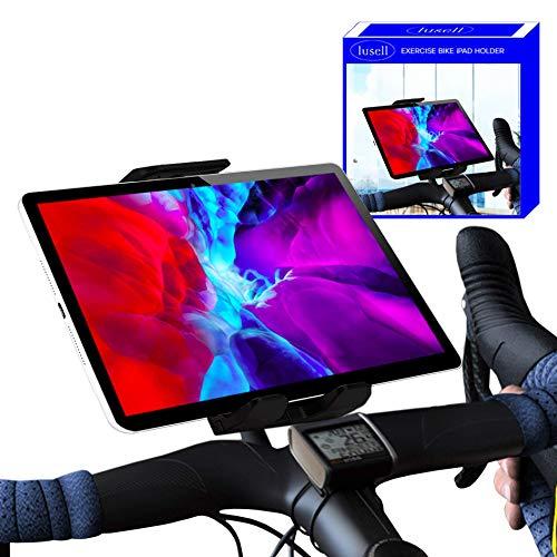 Tablet halterung fahrrad heimtrainer crosstrainer kompatibel mit iPad Universell kompatibel mit allen Lenkergrößen tablethalterungen fahrrad crosstrainer tablet halter bike trainer stand indoor