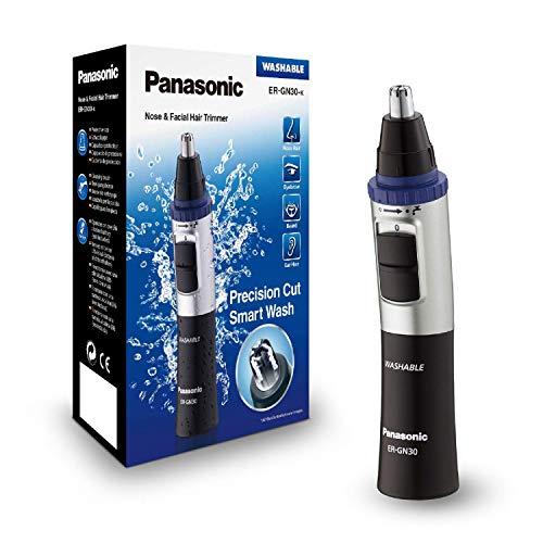 Panasonic Nasen/Ohrhaarschneider ER-GN-30K mit Batteriebetrieb