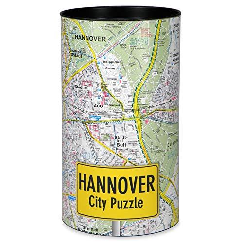 Extragoods City Puzzle - Hannover Premium Puzzle Erwachsenenpuzzle Spiele Puzzle Städtepuzzle