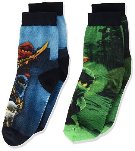 LEGO Jungen Ninjago Socken 2-Pack, 590, 34-36