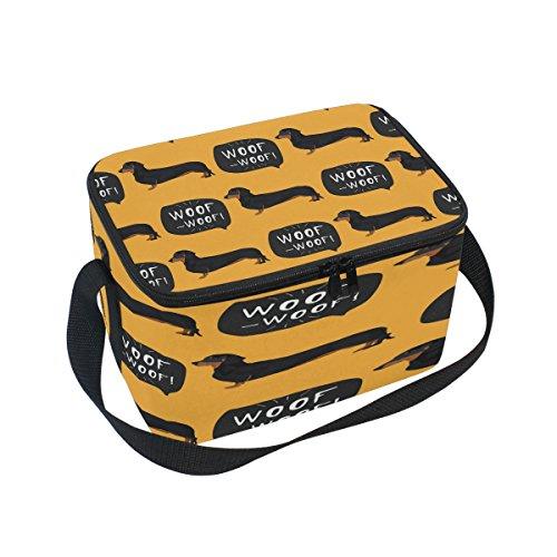Use7 Isolierte Lunch-Tasche für Picknick, Schule, Damen, Herren, Kinder
