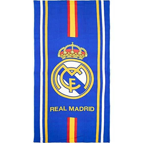 Brandunit Real Madrid Badetuch 70x140cm (one Size, Stripe)