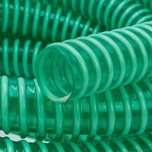 Saugschlauch *GRÜN Spiralschlauch Förderschlauch Pumpen Druckschlauch -Meterware (AD:47mm / ID:40mm)