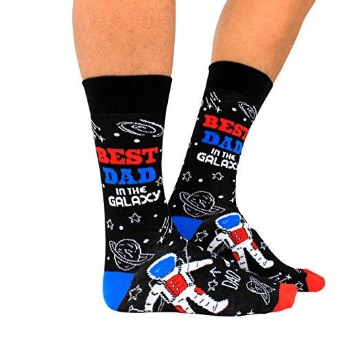 Cockney Spaniel Bester Vater der Galaxie Oddsocks Socken in 39-46 im Paar - Strumpf