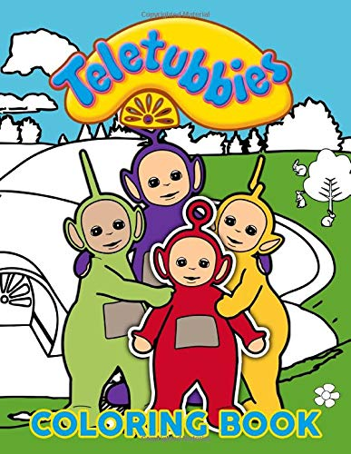 Teletubbies Coloring Book: Exclusive Adults Coloring Books! Stress Relieving