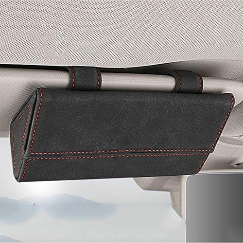 Brillenetui Auto Sonnenbrille Aufbewahrungsauto Brillenetui Sonnenblende Brillenetui , für Porsche