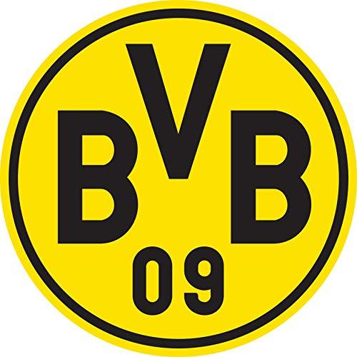 PUMA Uni T-Shirt BVB Home Replica SS Jr w/Sponsor Logo w/Opel, Cyber Yellow-Puma Black, 152, 757159