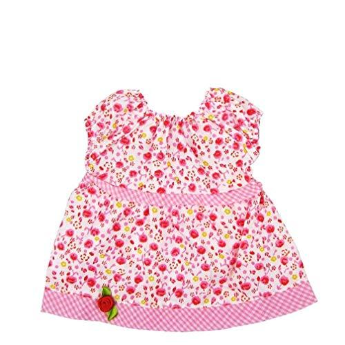 Yoyakie 1x Nette Puppen Puppenkleidung Outfit Dirndl-Outfit Für Puppen