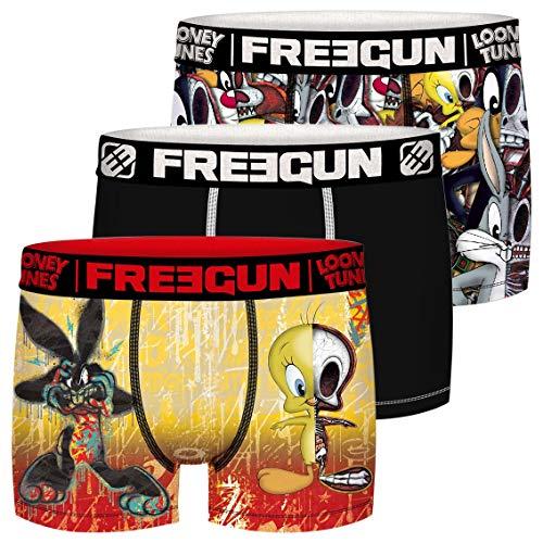 Freegun Jungen LOONEY TUNES TWEETY ET BUGS BUNNY FG/LOO/AM/3/PK3 Unterwäsche, P2, 8/10 Jahre (3er Pack)