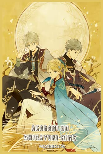 Akagami no Shirayuki-hime: NOTEBOOK FOR MANGA FANS ( 6 x 9 ) 120 PAGES - GIFT IDEAS