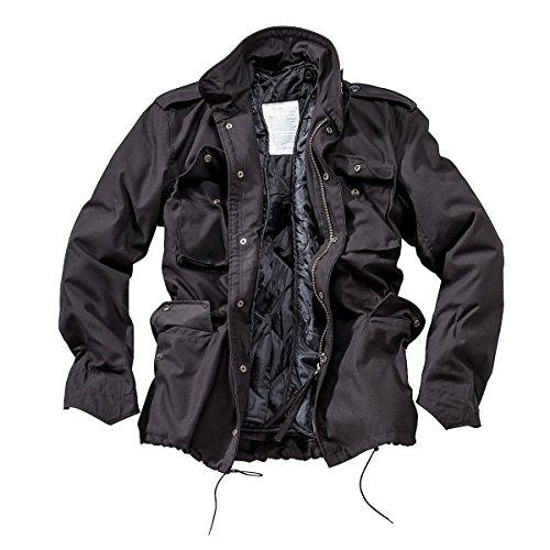 DELTA Industries M65 Fieldjacket, schwarz, Grš§e M