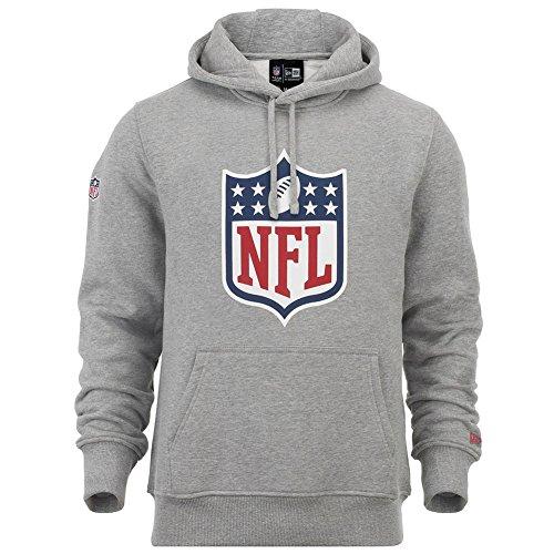 New Era NFL Team Logo Heather Grey Hoody - 4XL