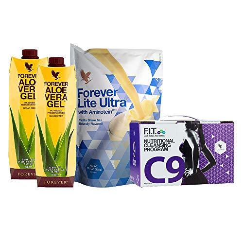 Forever Living Clean 9 (Neu C9) Natur Gewichtsverlust + Reinigen Programm