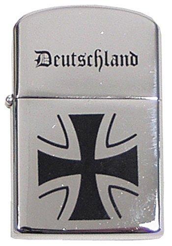 MFH Sturmfeuerzeug Feuerzeug Taschenfeuerzeug Benzinfeuerzeug Metallfeuerzeug