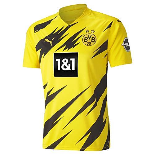 PUMA Herren, BVB HOME Trikot Replica 20/21 T-shirt, Cyber Yellow-Black, XXL