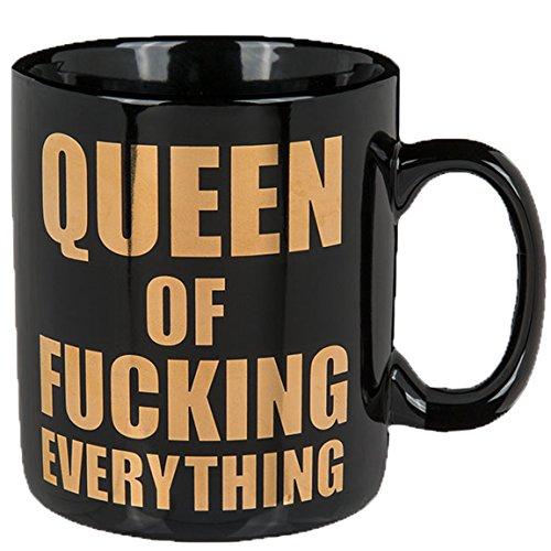 Bada Bing XL Tasse Queen Ca. 850 ml Kaffeebecher Becher Mit Spruch Kaffeetasse Küche Büro Geschenk 78