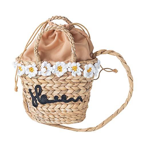 Obstkörbe Picknick-Korb Split Willow Einkaufs Split Korb Grün Kommissionierung Korb mit Hand Rebe Korb Hand gesponnene Korb Natürliche Weidenkorb (Color : Natural, Size : 25 * 70cm)