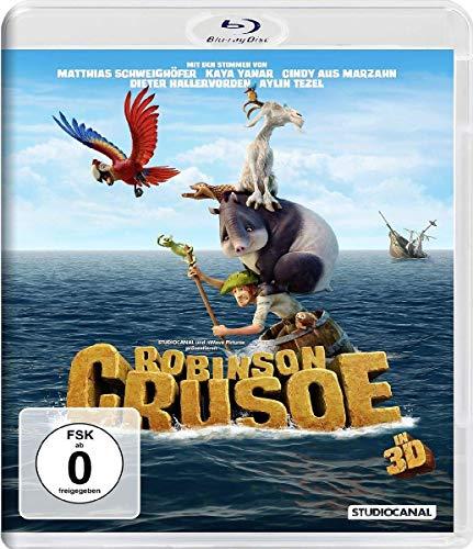 Robinson Crusoe (2D+3D) [3D Blu-ray]