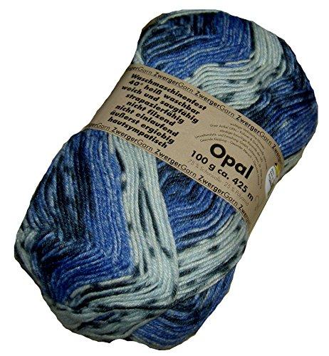 Frosch Regenwald II OPAL Socken- und Pulloverwolle 100g 4 fädig - Farbe 1614 (Partie 12)