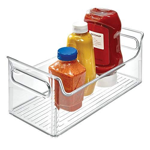 InterDesign 72530EU Kühlschrank-Boxen Tragbarer Gewürz-Caddy, durchsichtig