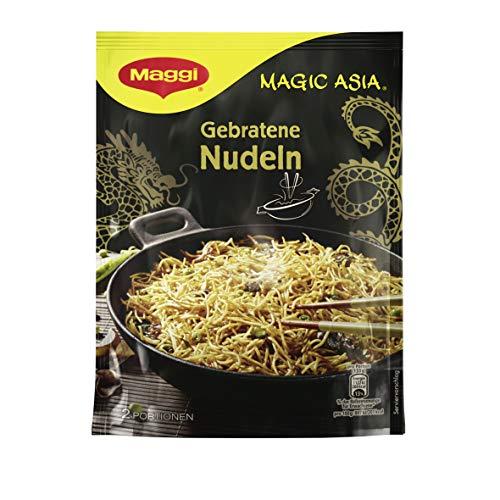Maggi Magic Asia Gebratene Nudeln, leckeres Fertiggericht, Instant-Nudeln, asiatisch gewürzt, 12er Pack (12 x 121g)