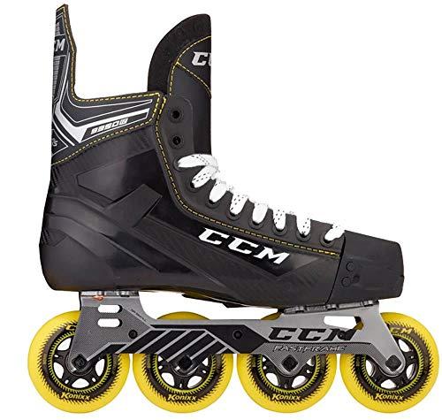 CCM Inline Skate 9350 Senior Roller Hockey Inliner 8 - Euro 43 Hockey Skater Schuh für Street und Freizeit