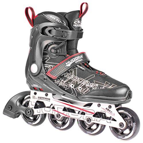 HUDORA Inliner Inline-Skates RX-23 - Gr. 36, schwarz/rot - 28936