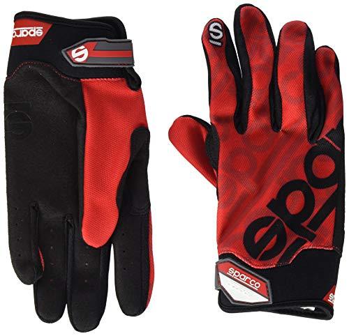 Sparco 002093RS3L Handschuhe Meca 3 Tg. Rot L, L